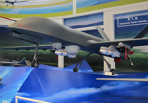 China's CH-4 armed drone disclosed for the first time in November / Source: Reuben Johnson