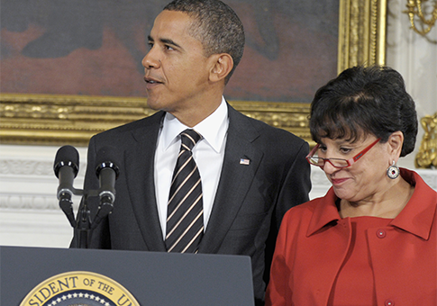 President Obama and Penny Pritzker / AP