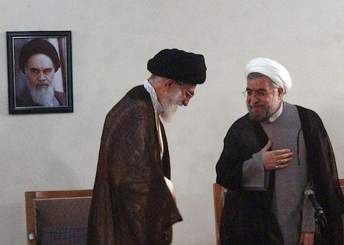 Ali Khamenei Hassan Rouhani