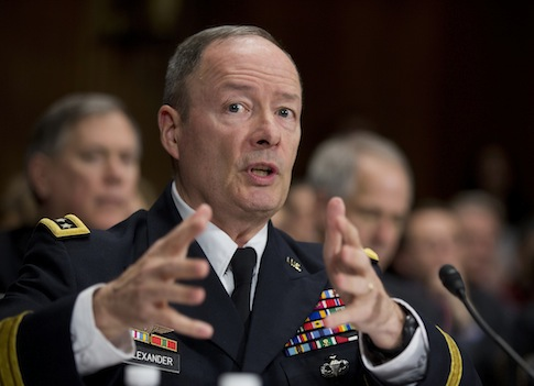 Gen. Keith Alexander / AP