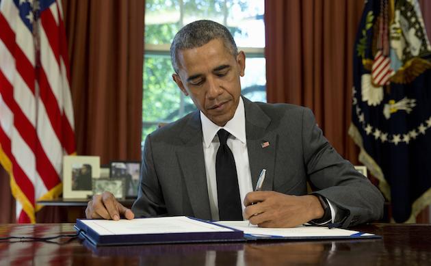 President Barack Obama on Friday, July 31 / AP