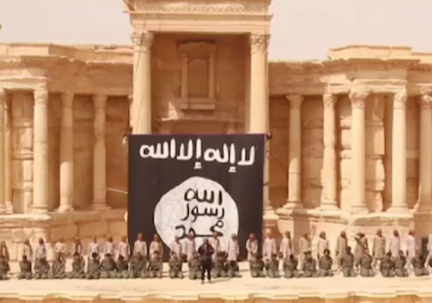 Video Of Executions Inside Antique Theater - Palmyra