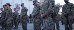 U.S. service members at Bagram Airfield in Afghanistan in 2014 / AP