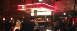 Authorities stand outside Irving Plaza in New York after a shooting Wednesday, May 25, 2016 / AP