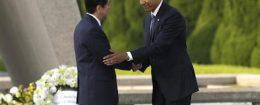 Barack Obama, Shinzo Abe