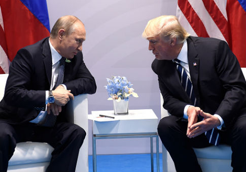 U.S. President Donald Trump and Russia's President Vladimir Putin / Getty