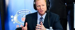 Commissioner of the National Football League Roger Goodell