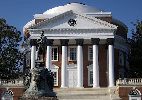 UVA Jefferson statue