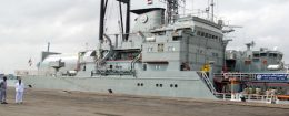 Two Iranian warships dock in the Sudanese Red Sea city of Port Sudan