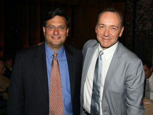 Ron Klain and Kevin Spacey